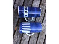 Rye pottery mugs - pair