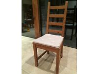 Ikea chair 6 wood