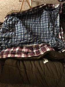 Sac de couchage d'hiver
