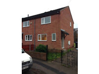 2 bed unfurnished modern house, Passhouses Road. S4