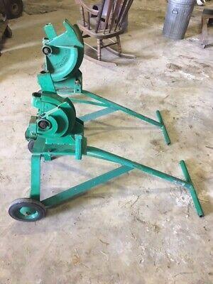 Greenlee 1800 And 1801 Mechanical Conduit Benders
