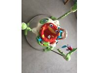 Fisher Price Jumperoo AND Chicco baby walker car