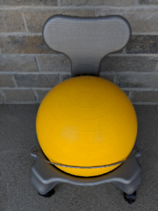 Swiss-Ball Chair (Exercise ball chair)