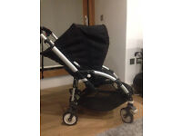 Bugaboo pushchair in black, for sale in Camden Town