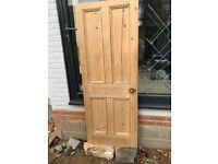 Reclaimed Pine Doors