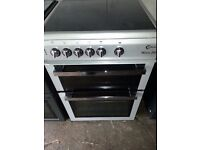 FLAVEL SILVER 60cm ELECTRIC COOKER , CHROME DESIGN,EXCELLENT CONDITION, 4 MONTHS WARRANTY