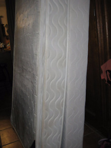 Twin or Single Box Spring and Mattress