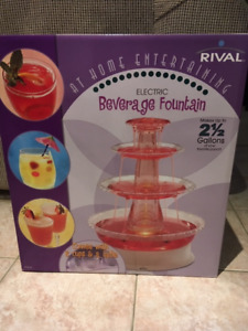 New Beautiful Electric Beverage Fountain