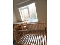 John Lewis Baby Cot in mint condition for sale, Surbiton £49 (willing to negotiate. Please ask)