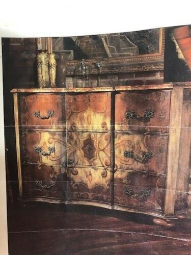 "Habersham Plantation ""Camden "" Chest - Handpainted  66 x 21 x 46"