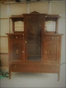Antique Buffet/China cabinet