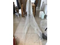 Bridal Veil - Extra Long To Cover Wedding Dress Train