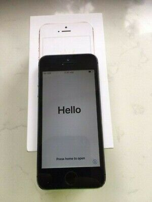Apple iPhone 5S (ME432B/A) 16GB (Unlocked) GSM Smartphone - Space Grey