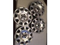 "15"" BMW Mini wheels 15"", inc. BMW TPMS (retail at £142 for 4) wheel trims (retail at £15)"