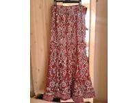 Red wedding lengha / dress new