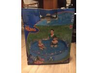 Bestway Finding Nemo Fast Set Above Ground Pool for kids (used once)