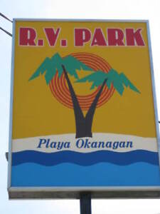 rv  park located 12 mins south of penticton.