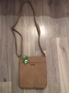 Roots 73 Leather Crossbody Purse