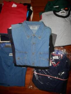 Wholesale LARGE clothing -Jackets, Shirts, Tshirts,-Clothing sale