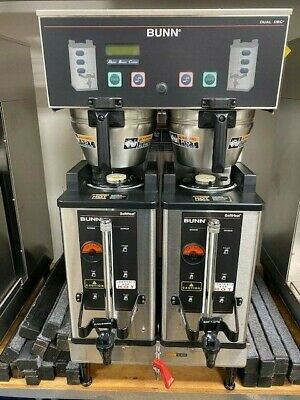 Bunn Commercial Coffee Maker - Dual Sh Dbc Includes Softheat Servers