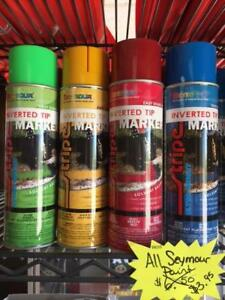 "Seymour Paint ""upside down""  spray paint"