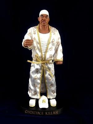 GHOSTFACE KILLAH WHITE & GOLD EDITION WU TANG CLAN 4 CAST TALKING FIGURE