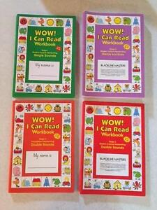 Wow I Can Read! Workbooks (Assorted) Fitzroy North Yarra Area Preview