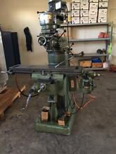 HMT Turret Milling Machine Bentley Canning Area Preview