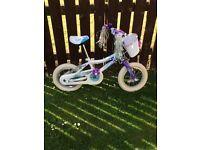 Lovely Girl's First Bike