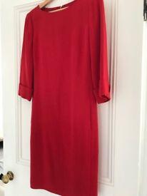 HObbs red dress