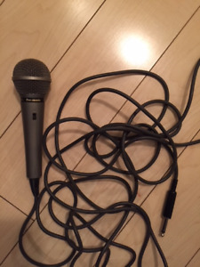 Panasonic RP-VK19 Dynamic Cable Microphone