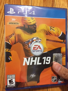 PS4 NHL 19 Brand New Unopened (Posting for a friend)
