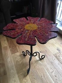 Flower Shaped Balcony/Patio Table