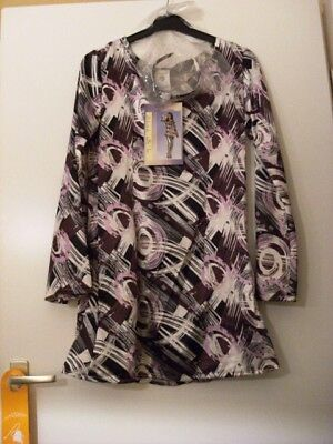 Tolle Tunika im Retro Stil für Damen Kostüm, Größe 44/46  60er-, 70er- und 80er
