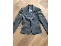 Grey blazer 4-6 UK Petite