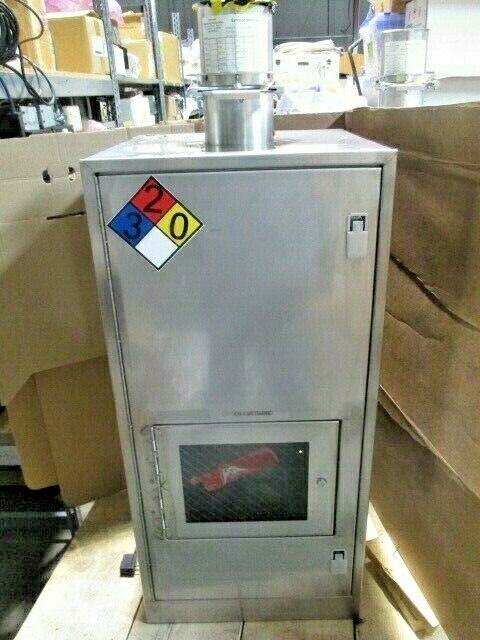 "VMB Cabinet Gas Valve Manifold Box, 22x22.5x46.5"", Swagelok, Parker, SMC, 100470"