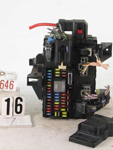 10 2010 Ford F150 Truck Junction Cabin Fuse Box Relay Block Unit A140fpb0nb