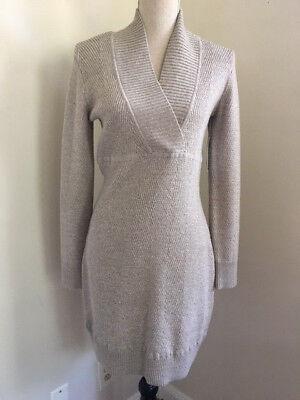 Athleta Innsbrook Sweater Dress Foxtail Heather XS