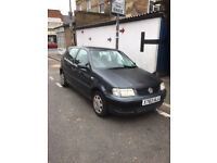 QUICK SALE YEAR 2000 VW POLO MATCH 5 DOORS HATCHBACK 1.4, MANUAL, PETROL WITH 82000 MILES