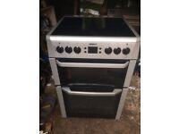 £124.69 Beko grey ceramic electric cooker+60cm+3 months warranty for £124.69
