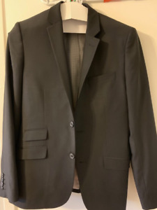 Grade 8 Graduation Suit with Shoes for Sale.  Only worn once!