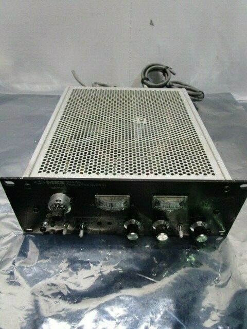 MKS 244E-1-VPO Pressure Flow Controller, Type 244, 101140