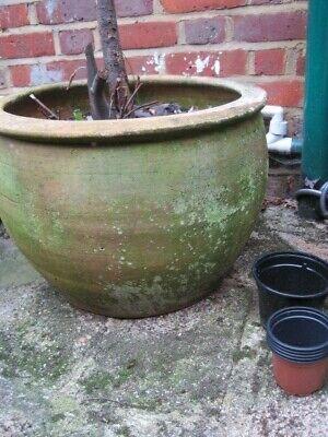 Extra large rustic planter/ plant pot - terracotta