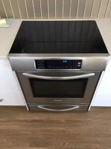 """Kitchen Aid 30"""" smooth top slide-in electric range oven"""