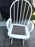 White Glider / Rocking Chair