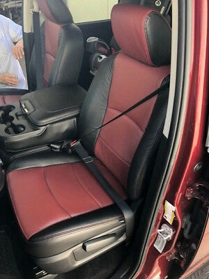 Custom Leather Upholstery - CUSTOM LEATHER UPHOLSTERY FOR 2003-2017 DODGE RAM