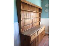 Antique large kitchen dresser