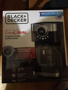 BLACK+DECKER Coffee Maker, Select-A-Size Easy Dial Control