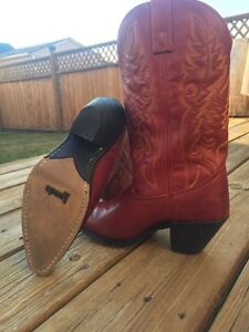 Cowboy Boots Just in Time for Stampede!  size 6.5