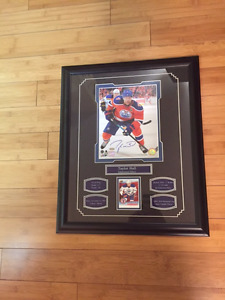 Taylor Hall Autographed Picture 8 X 10